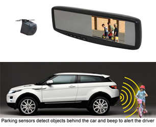Reverse Camera Systems and Parking Sensors at Master Audio and Security