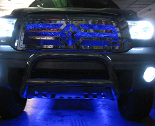 Automotive Lighting at Master Audio and Security
