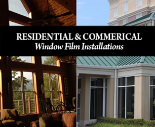 Residential and Commercial Solar Film Installation at Master Audio and Security